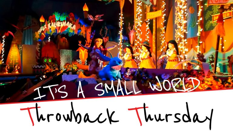 It's a Small World Christmas Edition – Throwback Thursday